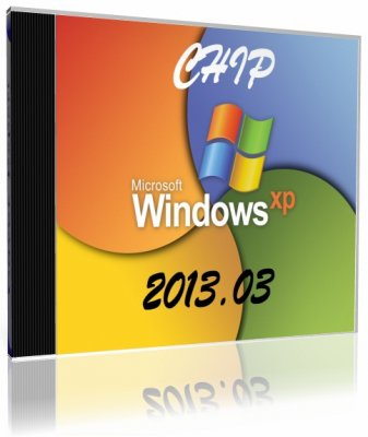 Chip Windows XP 2013.03 CD (2013) Русский